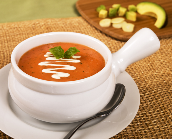 Cream of Tomato Soup | Raw Recipes - Easy & Delicious | Raw Food Made ...