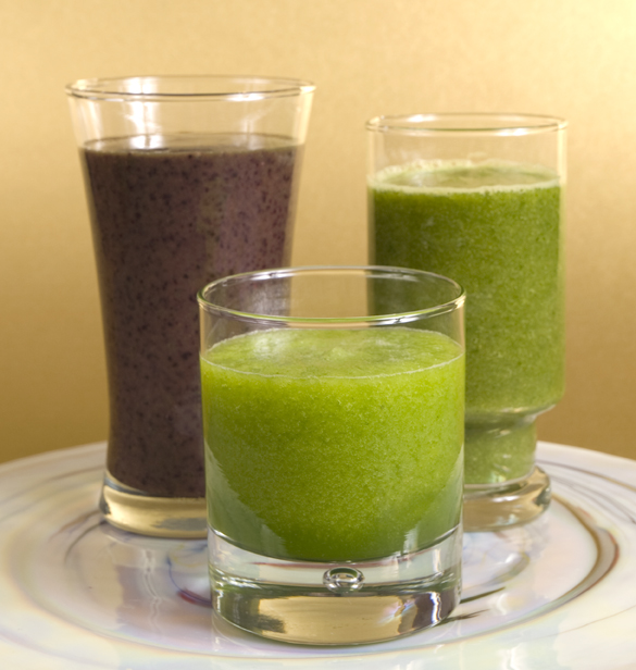 Banana-Grape Green Smoothie