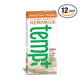 Hemp Milk, 32 oz, unsweetened—12 pack