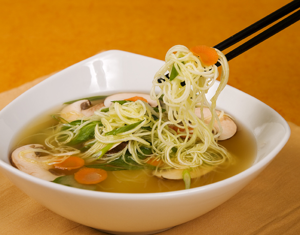Raw Food Ramen Gets Thumbs Waaay Up!