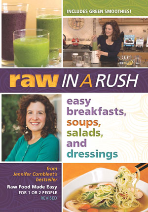 Raw In A Rush: Easy Breakfasts, Soups, Salads, and Dressings (DVD)