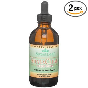 Liquid Stevia, 4 oz—2 bottles