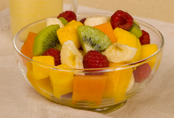 Tropical Fruit Salad | Raw Recipes - Easy & Delicious | Raw Food Made ...
