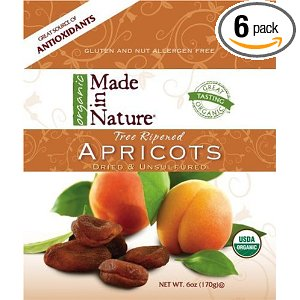 Apricots, dried