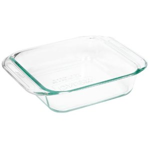 Baking dish, glass (8-inch square)
