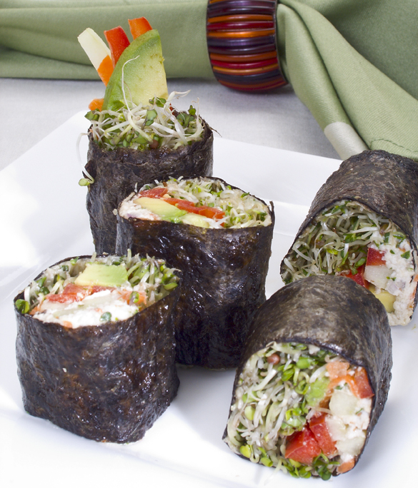California rolls raw recipes easy delicious raw food made california rolls raw recipes easy delicious raw food made easy with jennifer cornbleet forumfinder Images