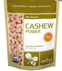 Cashews, raw