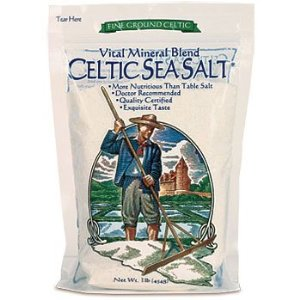 Celtic Sea Salt, fine ground, 1 lb