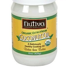Coconut oil, virgin (also called virgin coconut butter)